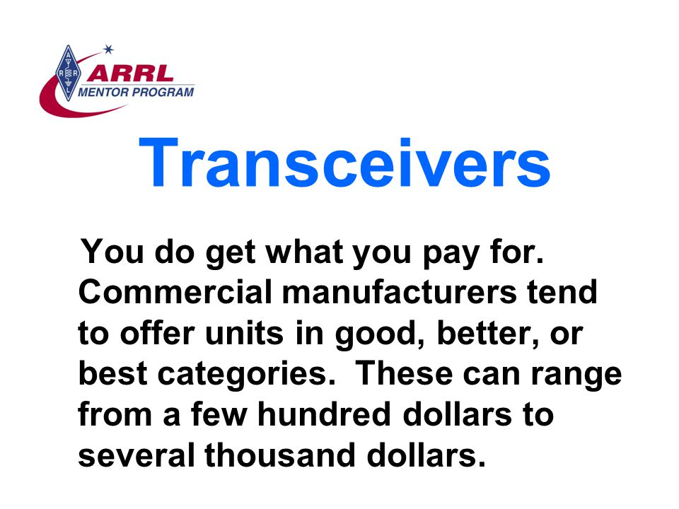 Transceivers