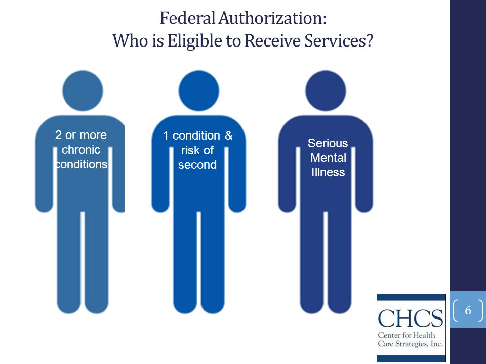 Federal Authorization: Who is Eligible to Receive Services