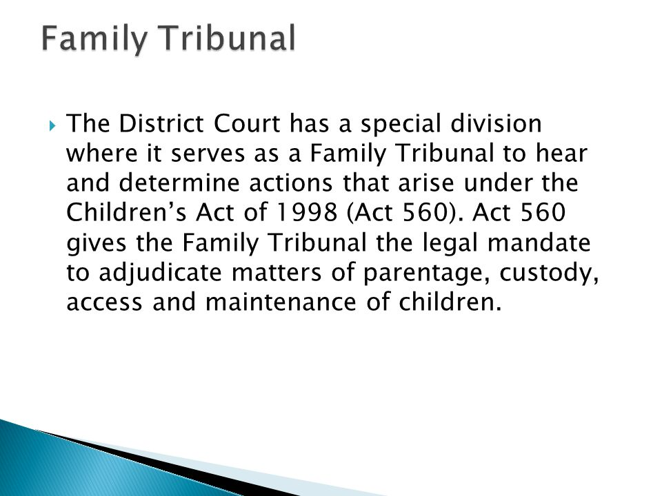 Family Tribunal