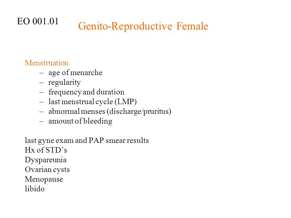 Genito-Reproductive Female