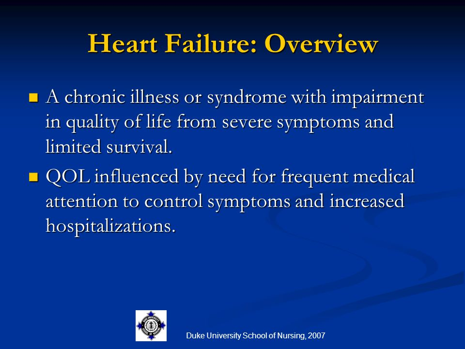 Heart Failure: Overview