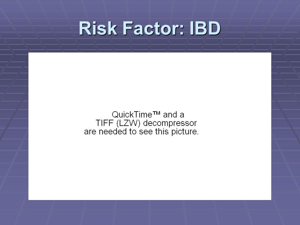 Risk Factor: IBD