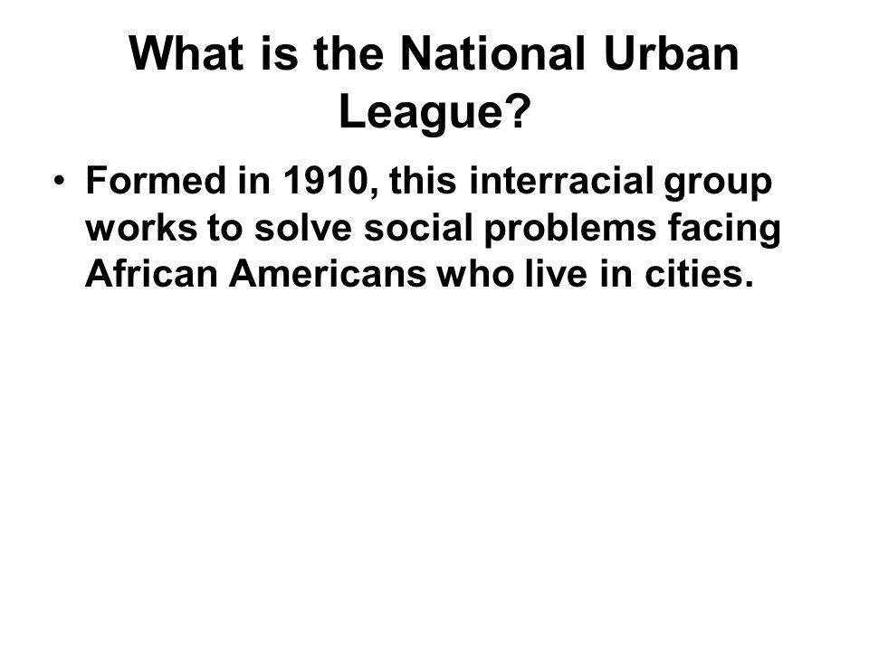 What is the National Urban League
