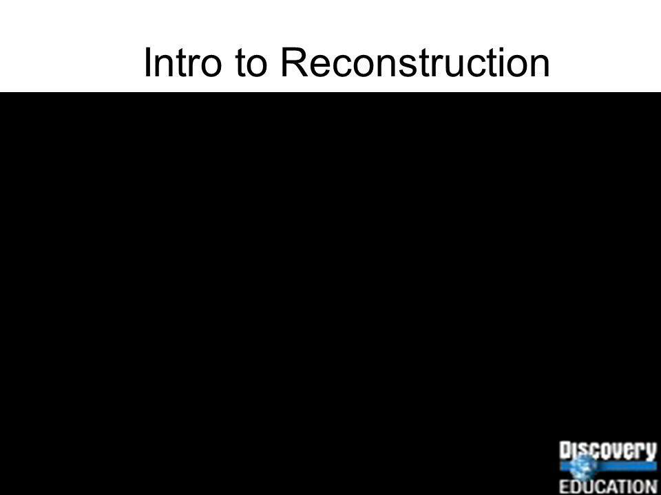 Intro to Reconstruction