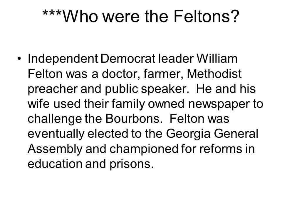 ***Who were the Feltons