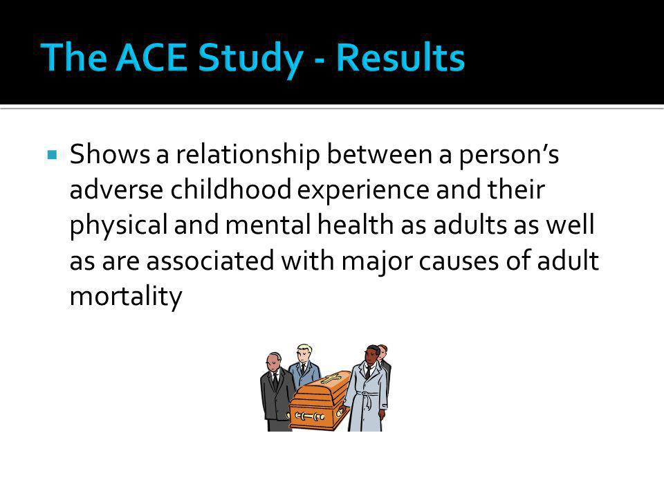 The ACE Study - Results