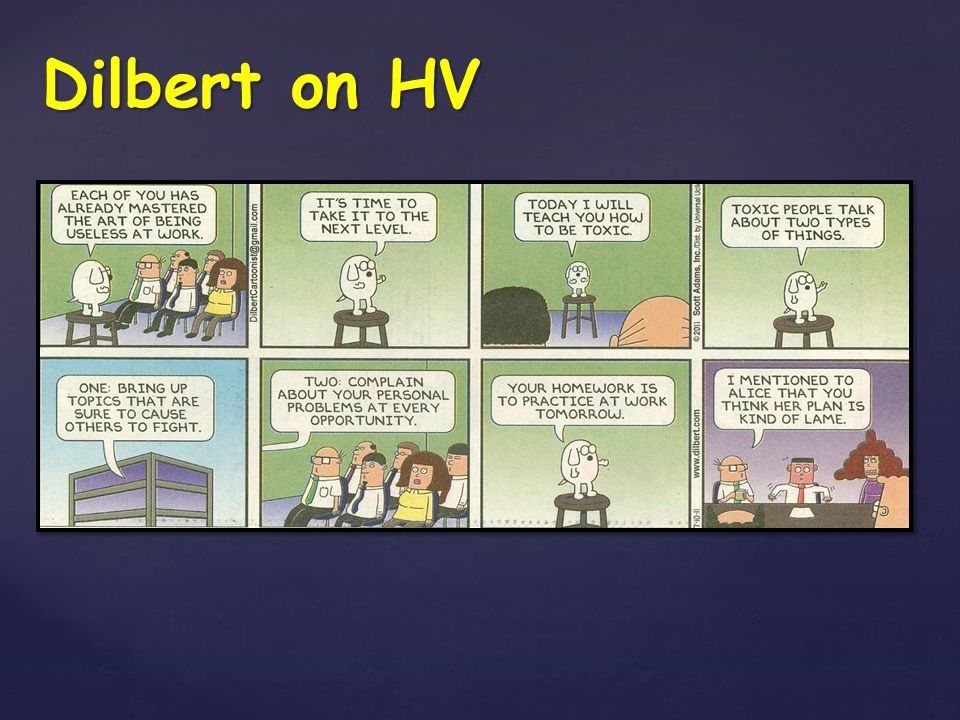 Dilbert on HV