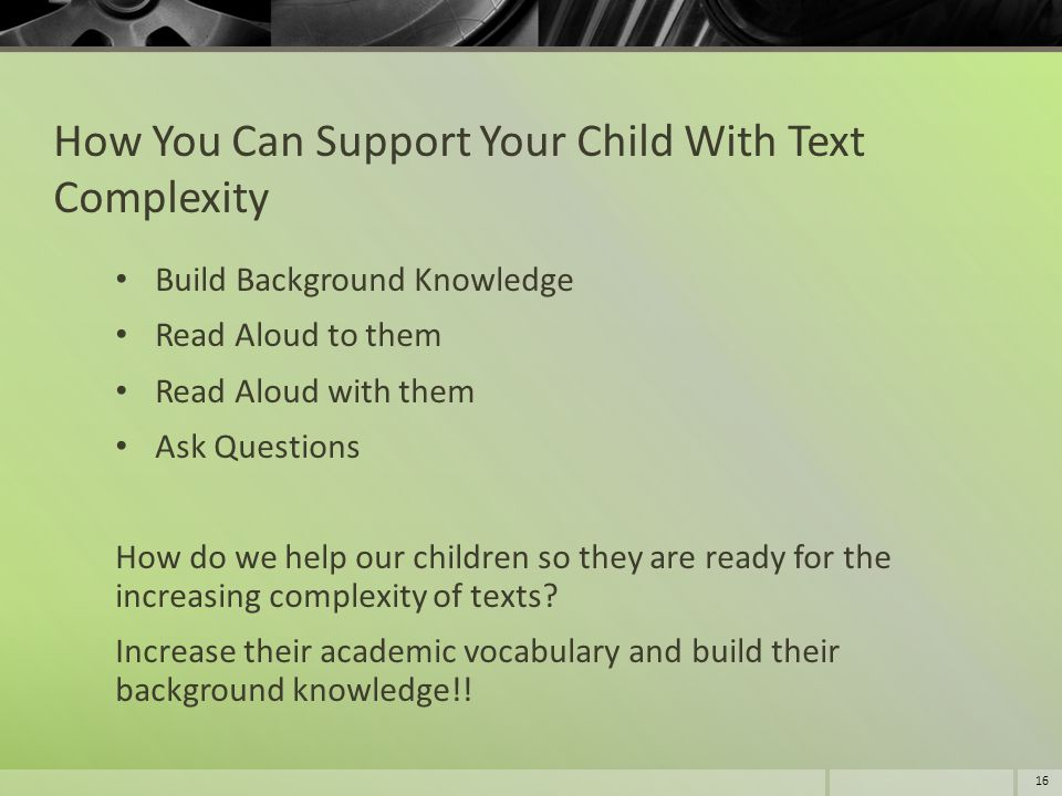 How You Can Support Your Child With Text Complexity