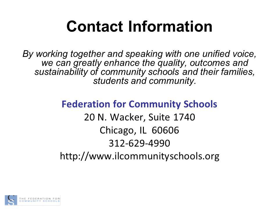Federation for Community Schools
