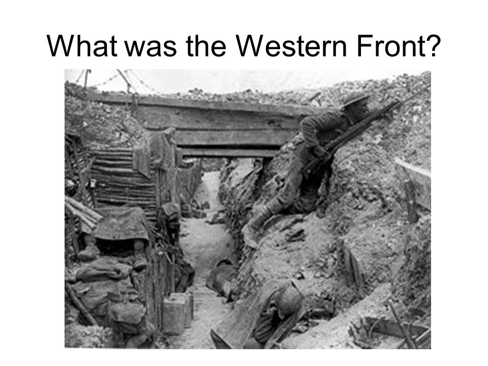 What was the Western Front