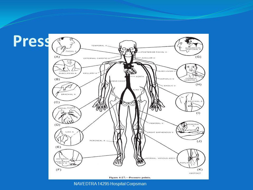 Pressure Points NAVEDTRA 14295 Hospital Corpsman