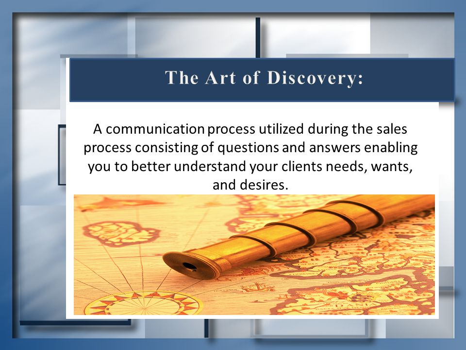 The Art of Discovery: