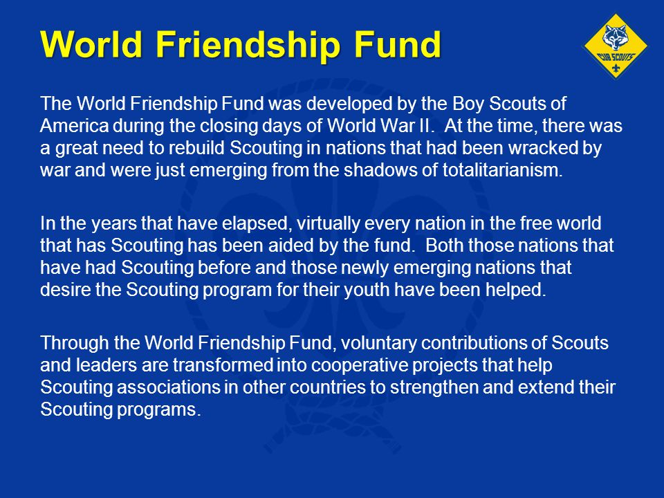 World Friendship Fund