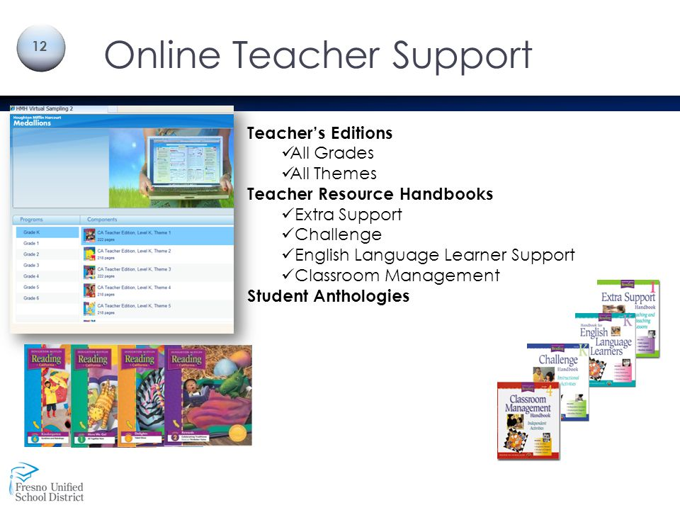 Online Teacher Support