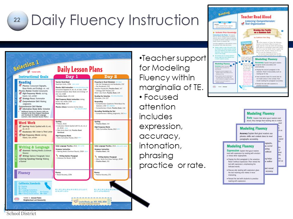 Daily Fluency Instruction