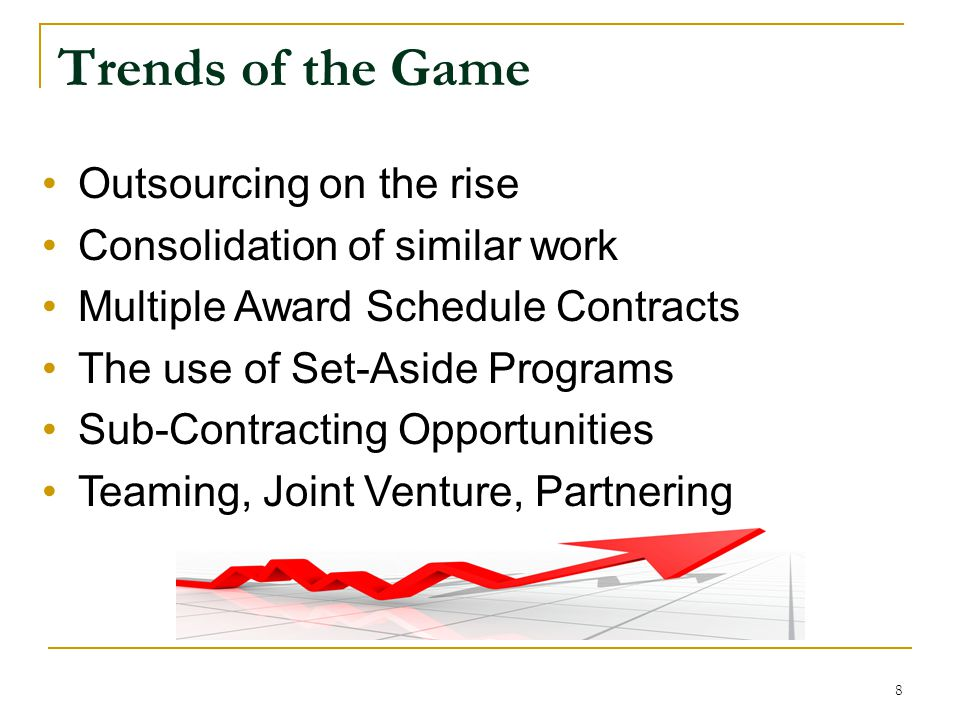 Trends of the Game Outsourcing on the rise