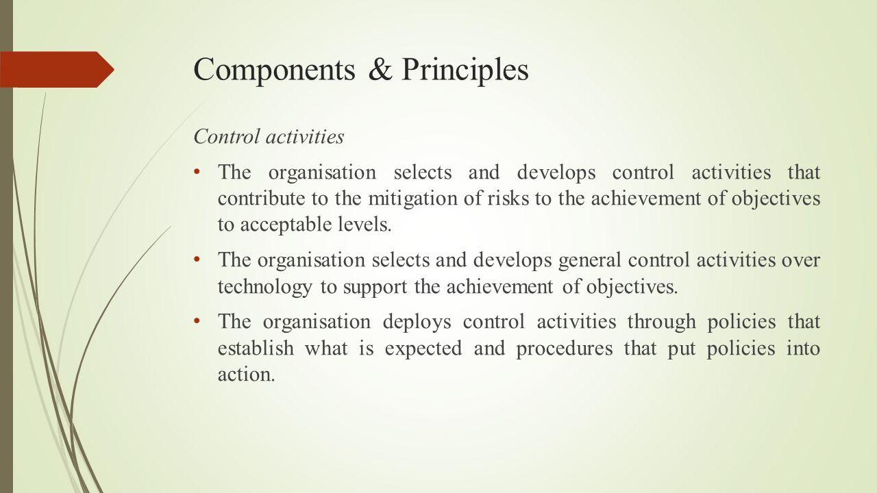 Components & Principles