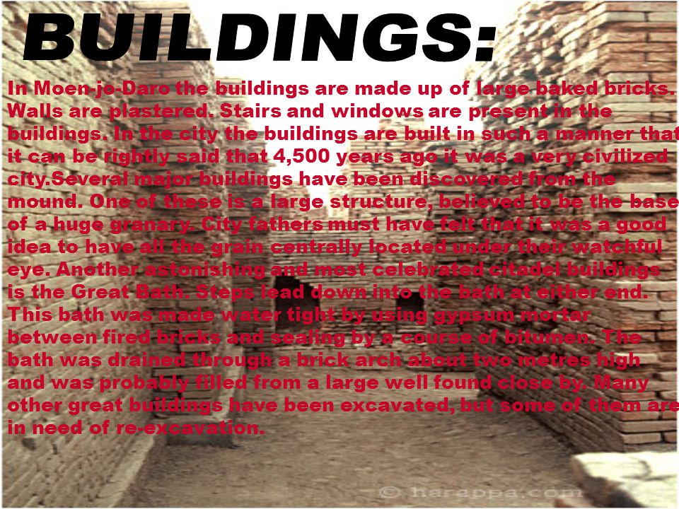 BUILDINGS: