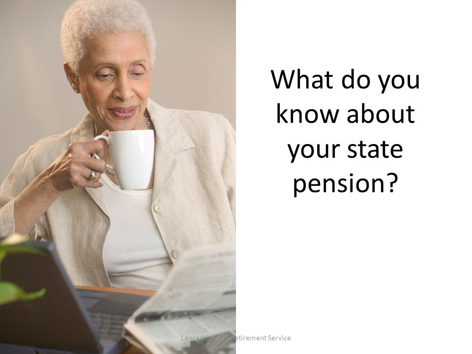 What do you know about your state pension