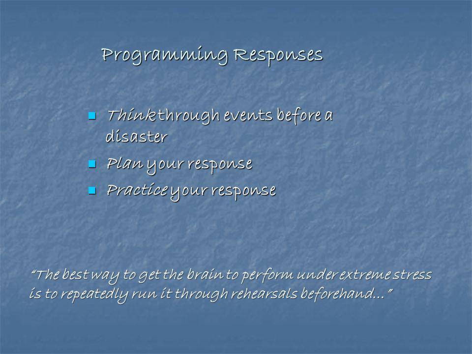 Programming Responses