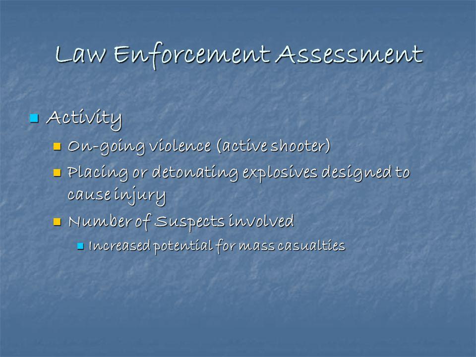 Law Enforcement Assessment