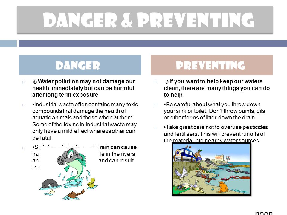 Danger & preventing Danger preventing noonn