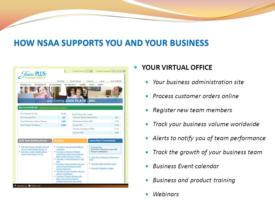 HOW NSAA SUPPORTS YOU AND YOUR BUSINESS