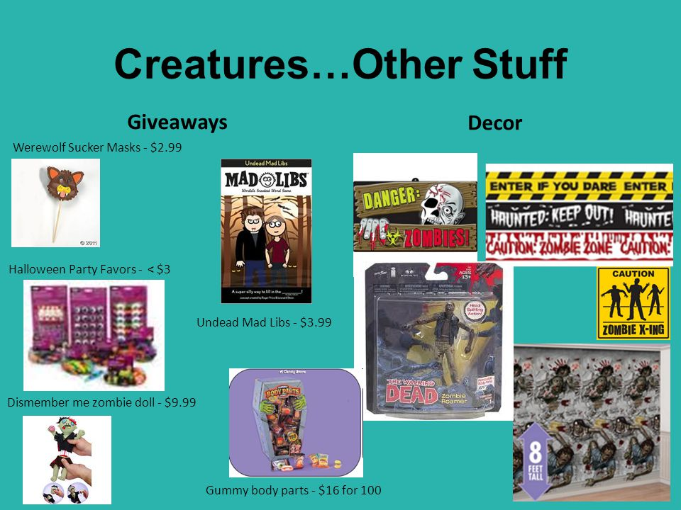 Creatures…Other Stuff