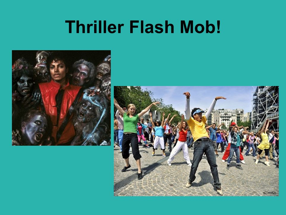 Thriller Flash Mob!