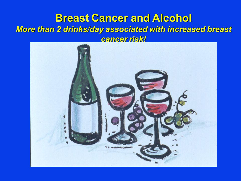 Breast Cancer and Alcohol