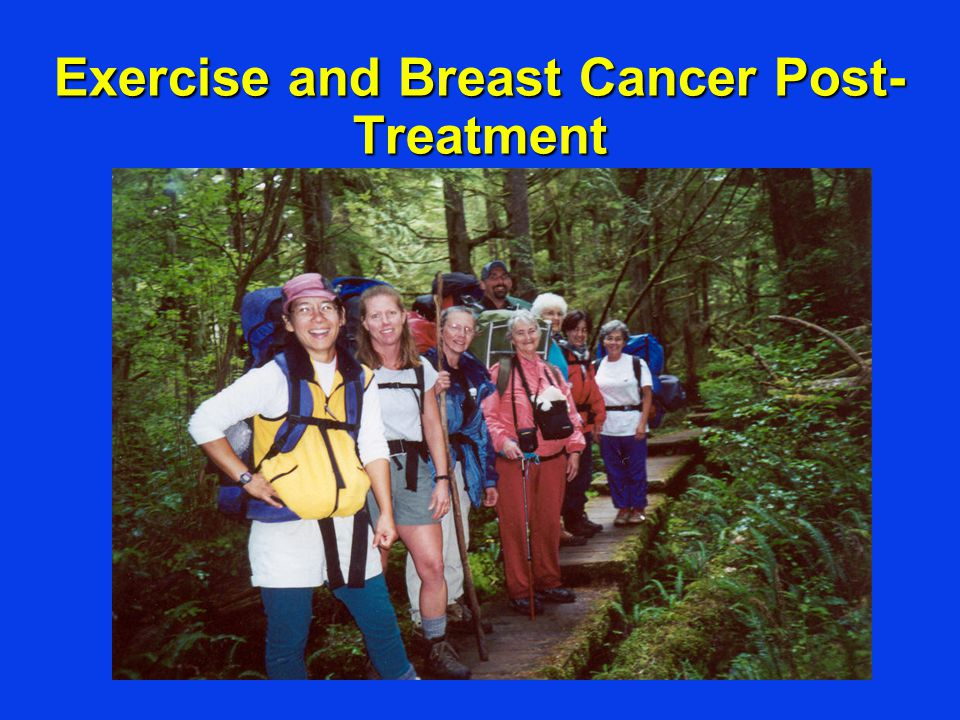 Exercise and Breast Cancer Post-Treatment