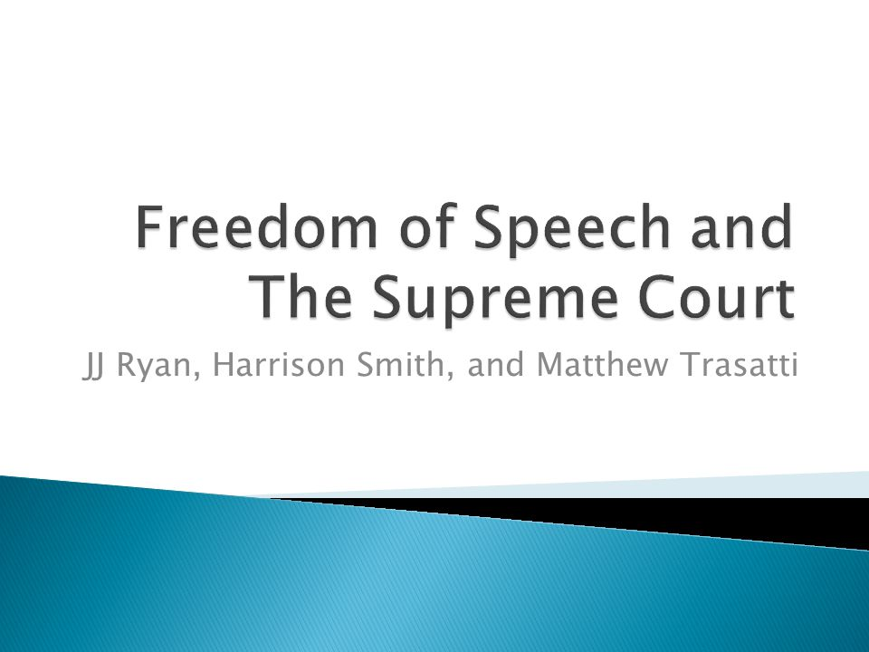 a study on the supreme court decision on the matthew n fraser freedom of speech case in america Do i have freedom of speech at the students then asked the us supreme court to review the case matthew fraser was a high school student who gave.