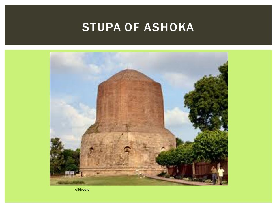 Stupa of Ashoka wikipedia