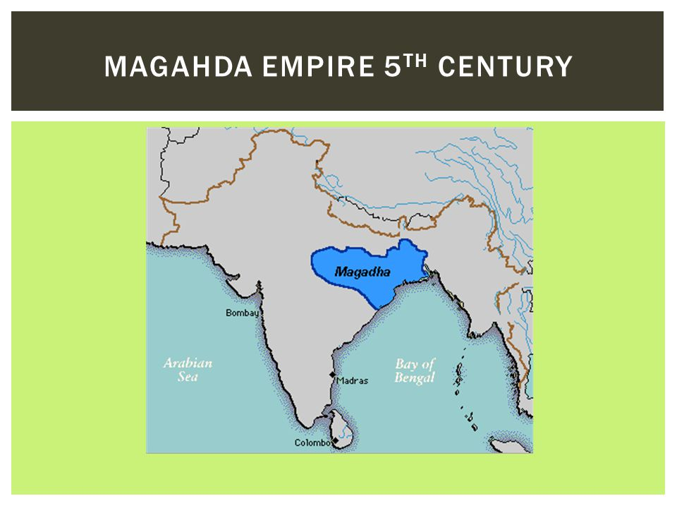 Magahda Empire 5th Century