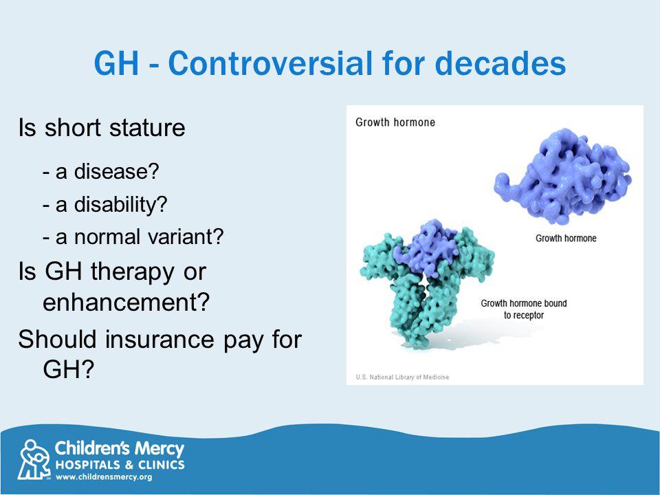 GH - Controversial for decades