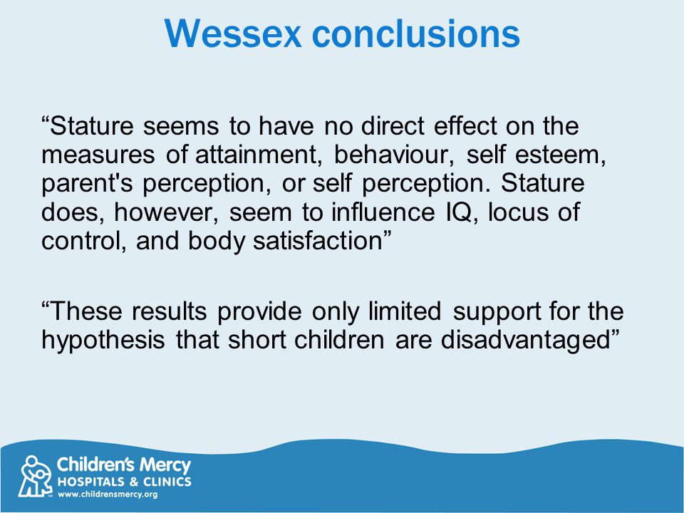 Wessex conclusions