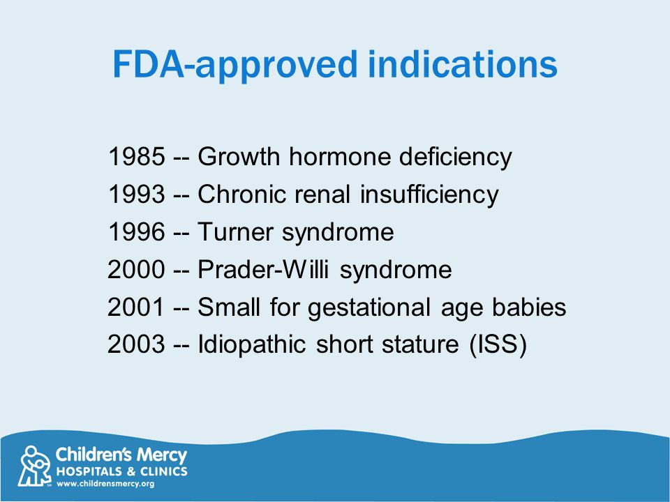 FDA-approved indications