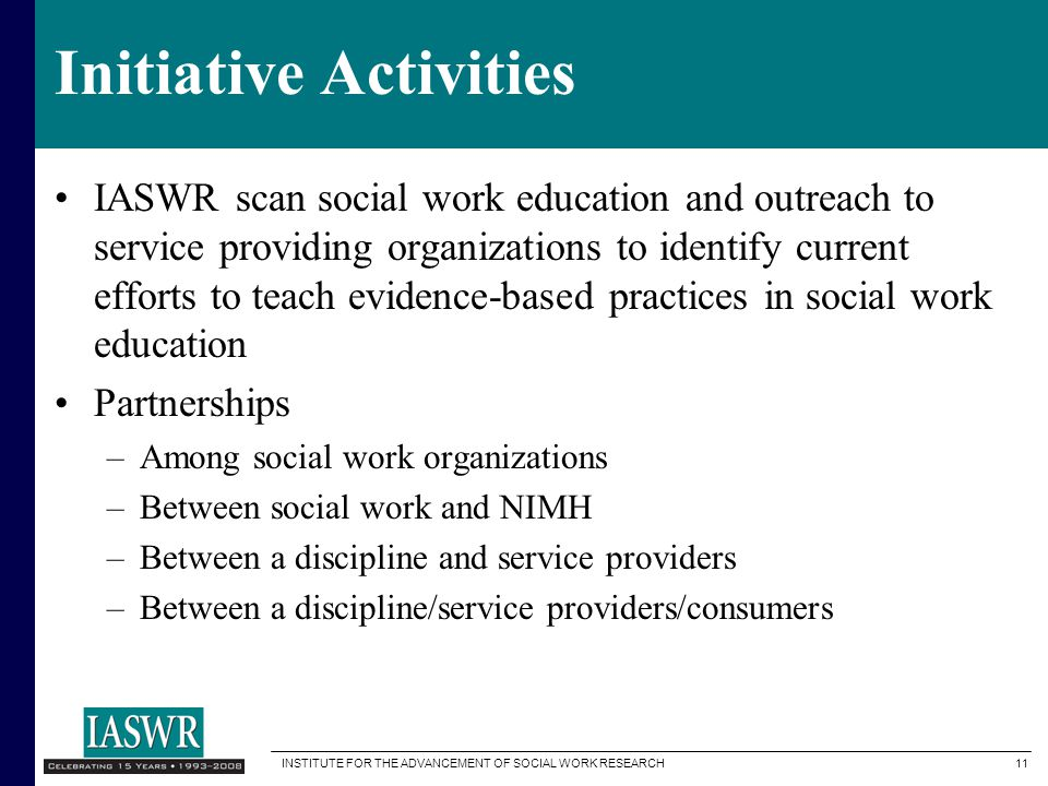 Initiative Activities