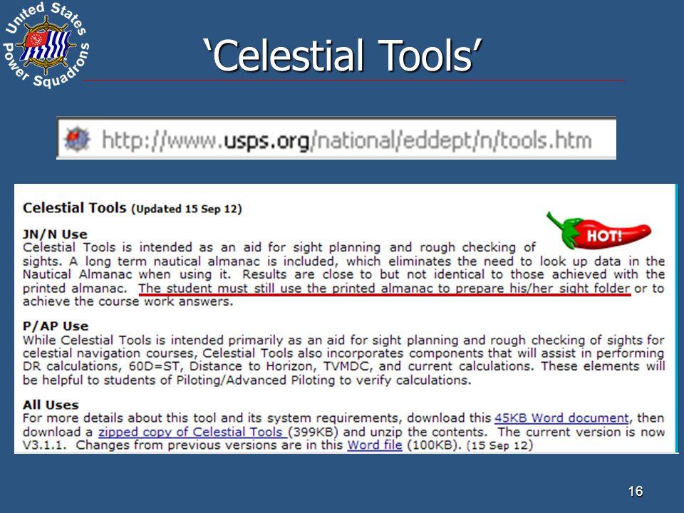 'Celestial Tools' 16 16