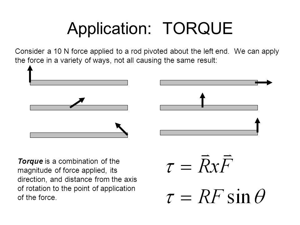 Application: TORQUE