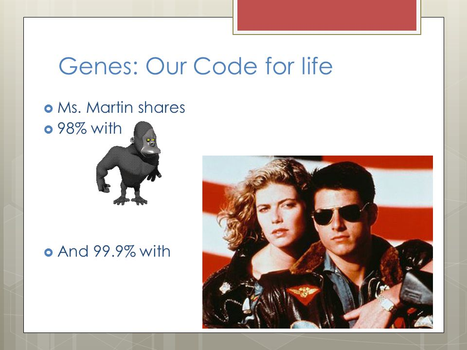 Genes: Our Code for life