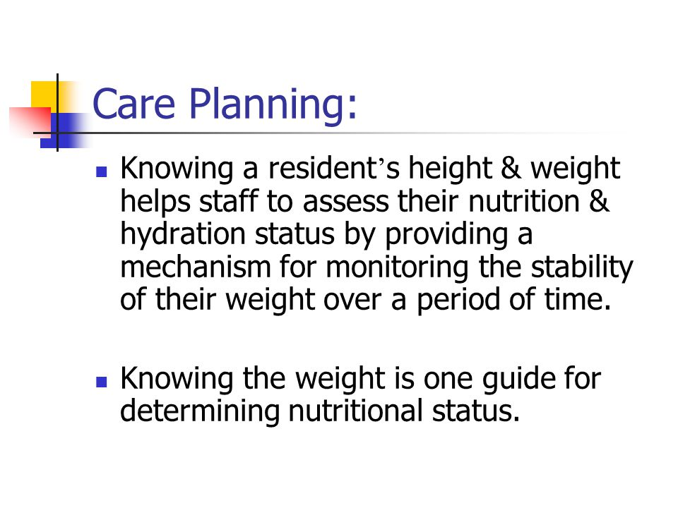 Care Planning: