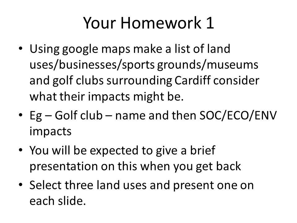 Your Homework 1