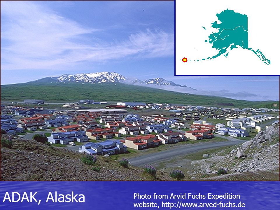 ADAK, Alaska Photo from Arvid Fuchs Expedition website, http://www.arved-fuchs.de