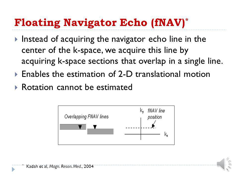 Floating Navigator Echo (fNAV)*