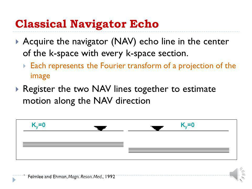 Classical Navigator Echo