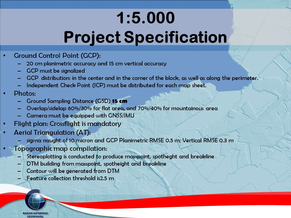 1:5.000 Project Specification