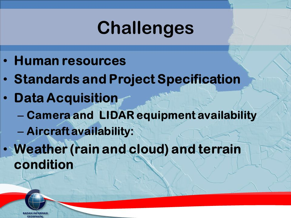Challenges Human resources Standards and Project Specification
