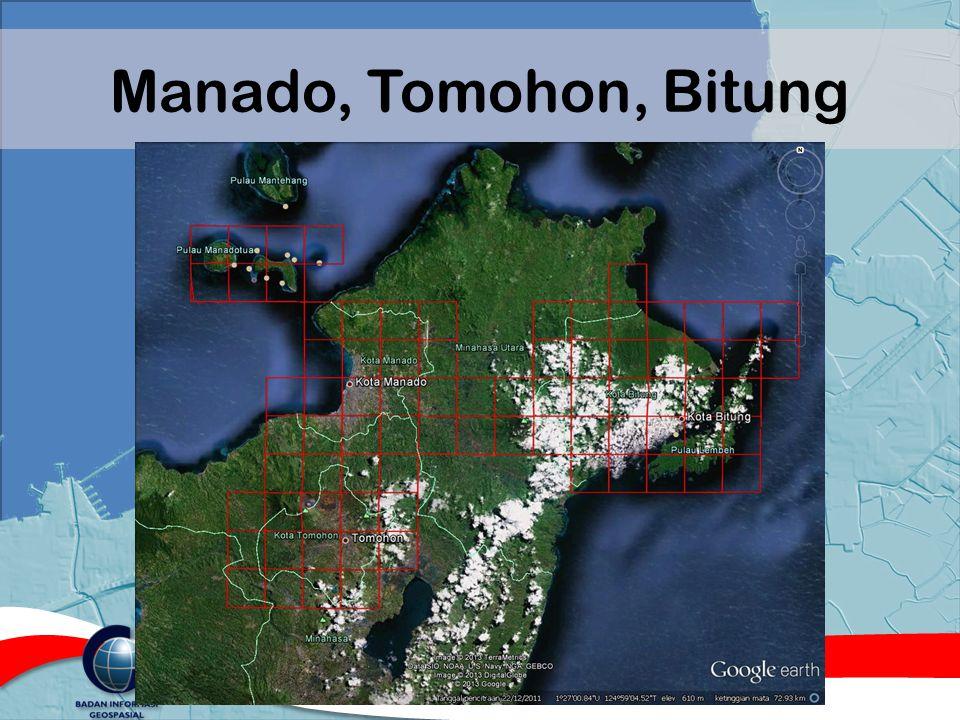 Manado, Tomohon, Bitung