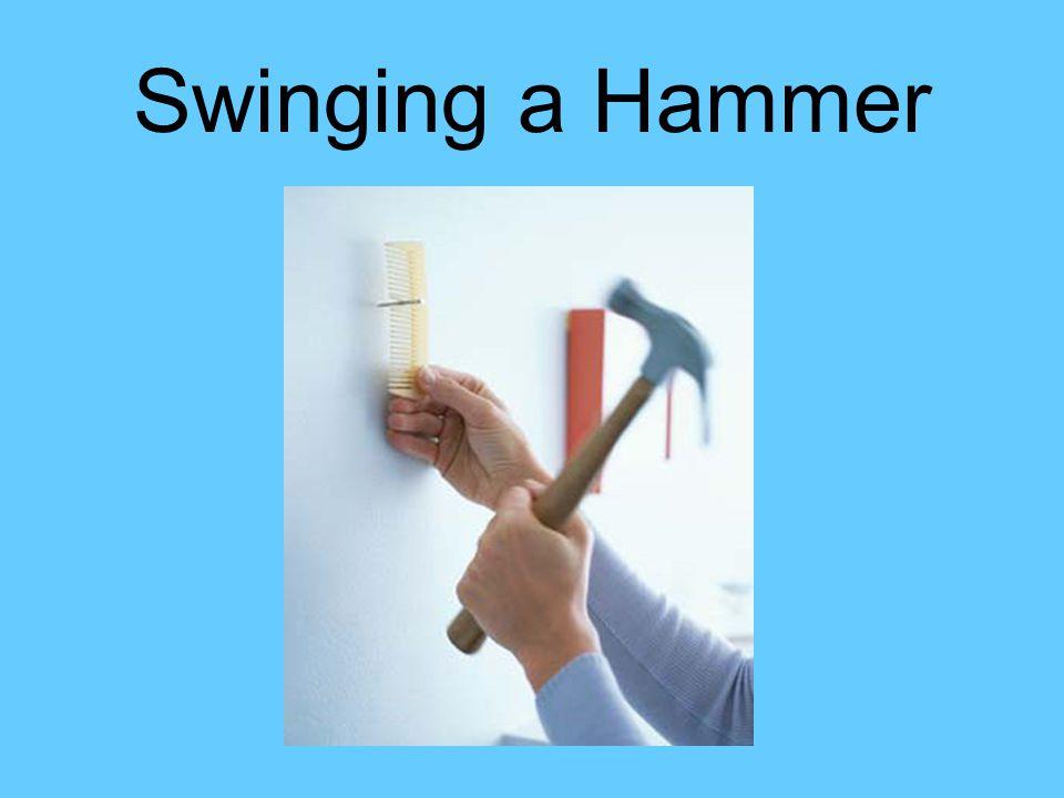 Swinging a Hammer